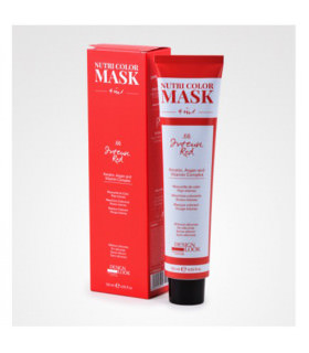 Design Color Nutri Color Mask 4 in 1 Fire Red 120ml