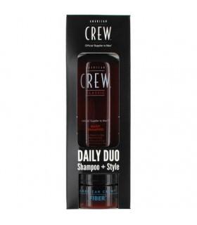 American Crew Pack: Daily Shampoo 250ml + Fiber 85gr