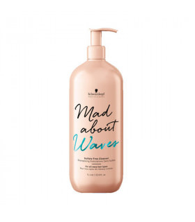 Schwarzkopf Mad About Waves Champú Sin Sulfatos 1000ml