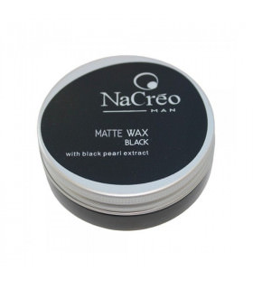 Nacreo Man Matte Wax Black 50ml