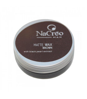 Nacreo Man Matte Wax Brown 50ml