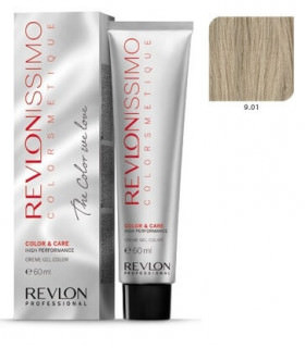 Revlonissimo Colorsmetique 9.01 Rubio Muy Claro Ceniza Natural Revlon 60ml