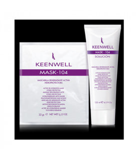 Keenwell Active Re-Hydration Mask 104 (22ml +125ml)