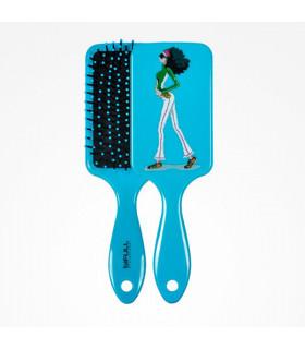 Bifull Cepillo Raqueta Top Fashion Pastel Blue