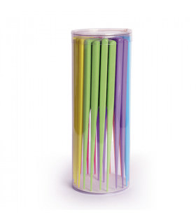 Bifull Bote Peine Púa Plástico Colores (24uds)