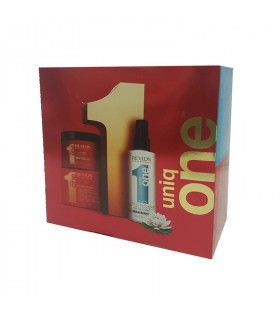 Revlon Uniq One Pack Duo (Lotus Flower Hair Treatment + Mask 300ml)