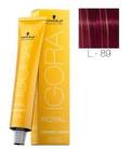 Igora Fashion Lights L-89 Rojo Violeta 60ml Schwarzkopf Professional tinte de pelo