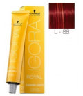 Igora Fashion Lights L-88 Rojo 60ml Schwarzkopf Professional tinte de pelo