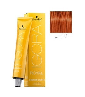 Igora Fashion Lights L-77 Cobrizo 60ml Schwarzkopf Professional tinte de pelo