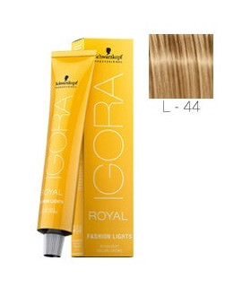Igora Fashion Lights L-44 Beige 60ml Schwarzkopf Professional tinte de pelo