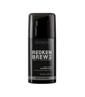 Redken Brews Work Hard Molding Paste 100ml