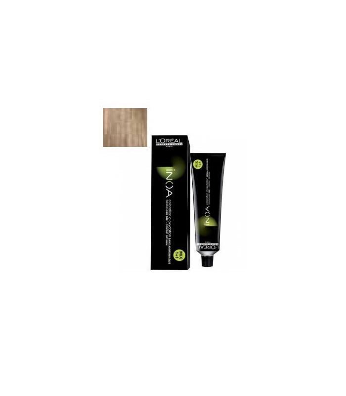 Inoa L'Oréal Professionall 10,1 Rubio Platino Cenizal 60ml tinte de pelo