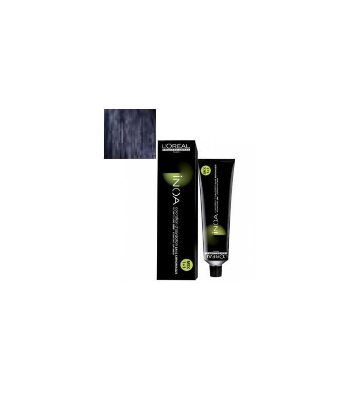 Inoa L'Oréal 3,10 Castaño Oscuro Ceniza Intenso 60ml tinte de pelo