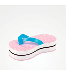 Bifull Kit Manicura 5 Piezas Topos Flip Flop