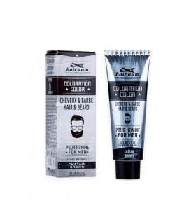 Hairgum Tinte Barba y Cabello Nº 4 Castaño