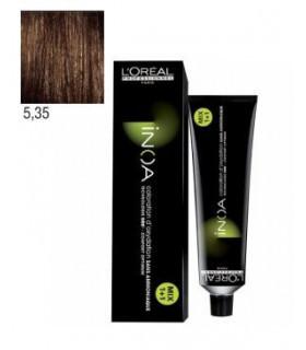 L'Oréal Professionnel Inoa 5,35 Castaño Claro Dorado Caoba 60ml