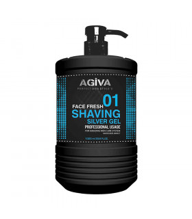 Agiva Shaving Gel Silver 1000ml