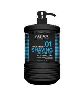 Agiva Shaving Gel Silver 1000ml