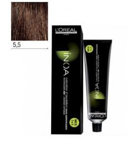 L'Oréal Professionnel Inoa 5,5 Castaño Claro Caoba 60ml