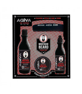 Agiva Beard & Moustache Set