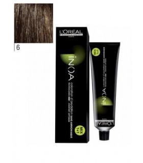 L'Oréal Professionnel Inoa 6 Rubio Oscuro 60ml