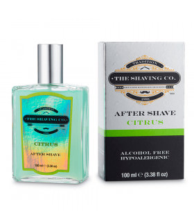 The Shaving Co After Shave Splash Citrus 100ml