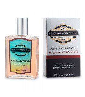 The Shaving Co After Shave Splash Sandalo 100ml