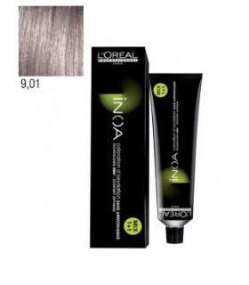 L'Oréal Professionnel Inoa 9,01 Rubio Muy Claro Natural Ceniza 60ml