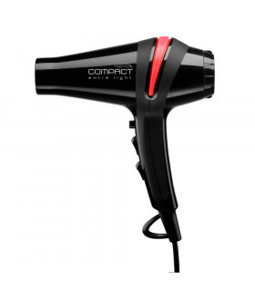 Eurostil Secador Compact Confort Iónico-Turmalina 1800w Negro