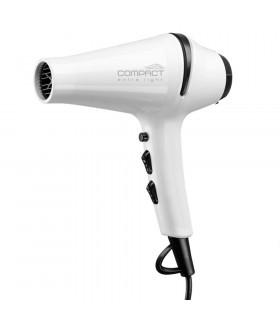 Eurostil Secador Compact Confort Iónico-Turmalina 1800w Blanco