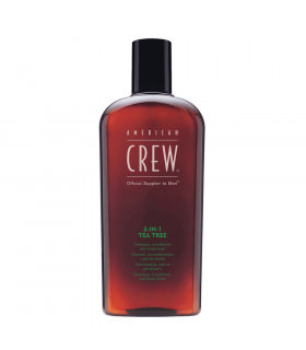 American Crew Champu Tea Tree 3en1 450ml