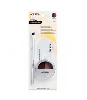 Cejas Andrea Powder Duo Marron Medio