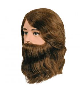 Cabeza Boy Con Barba 20cm