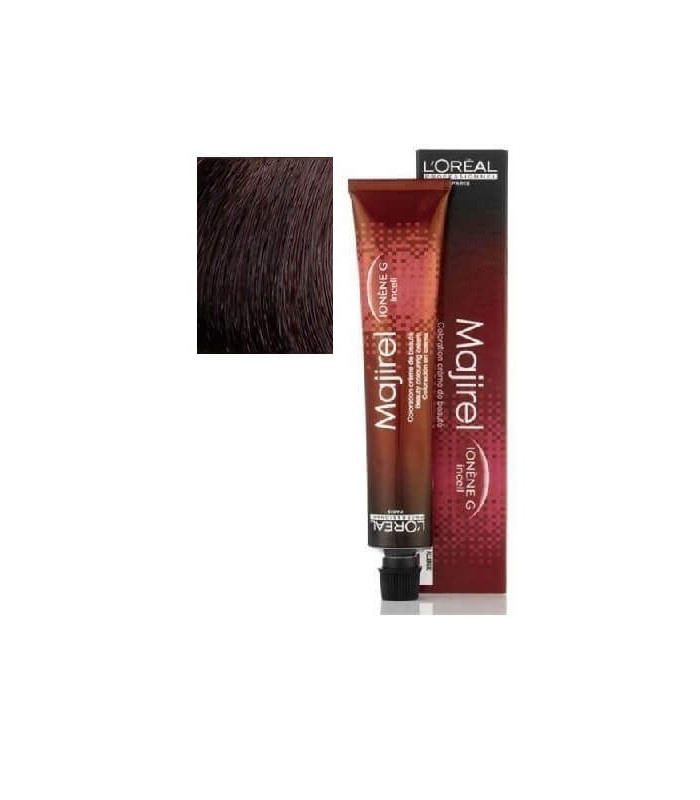 Majirel 4,15 Castaño Ceniza CaobaL´Oréal Professional 50ml tinte de pelo