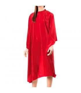 Capa Corte Plastico Rojo 128x148
