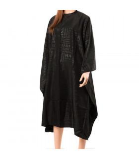 Eurostil Capa Corte Polyester Negra 143x152