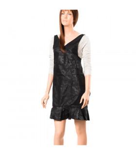 Eurostil Capa Corte Polyester Negra 128x145