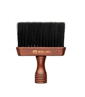 Barber Line Cepillo Cuello Barbero Triton Madera