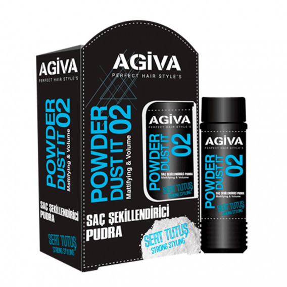 Agiva Hair Styling Powder Wax 02 20g