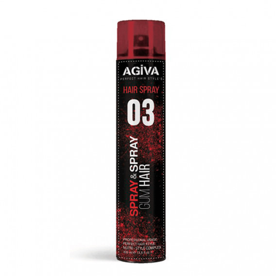 Agiva Hair Styling Spray 03 400ml