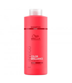 Wella Invigo Brilliance Shampoo Coarse 1000ml