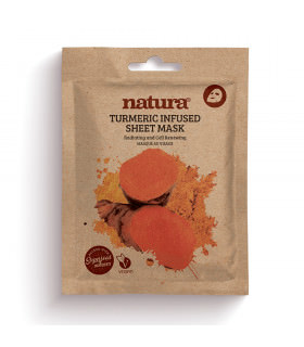 Natura Turmeric Infused Sheet Mask 22ml