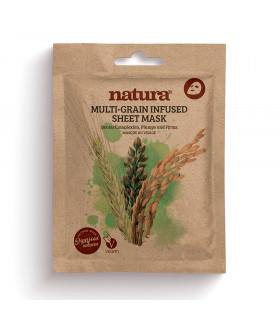 Natura Multi Grain Infused Sheet Mask 22ml