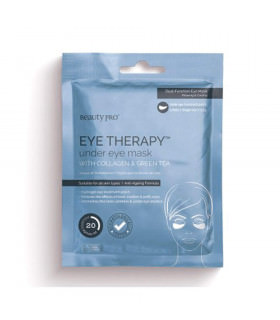 Beauty Pro Eye Therapy Collagen Under Eye Mask With Green Tea Extract 3x3.5
