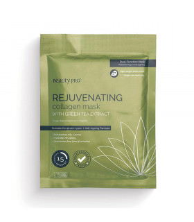 Beauty Pro Rejuvenating Collagen Shet Mask With Green Tea Extract 23g