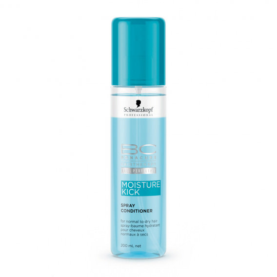 Schwarzkopf BC Moisture kick Spray acondicionador 200ml
