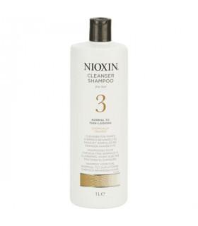 Nioxin System 3 Cleanser Shampoo 1000ml