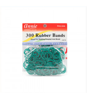 Annie 300 Rubber Bands Green/verde 3216 (Gomas)