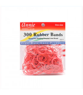 Annie 300 Rubber Bands Red/rojo 3214 (Gomas)