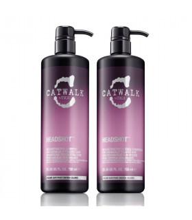 Tigi Duo Pack Catwalk Headshot Reconstructive Shampoo&Conditioner